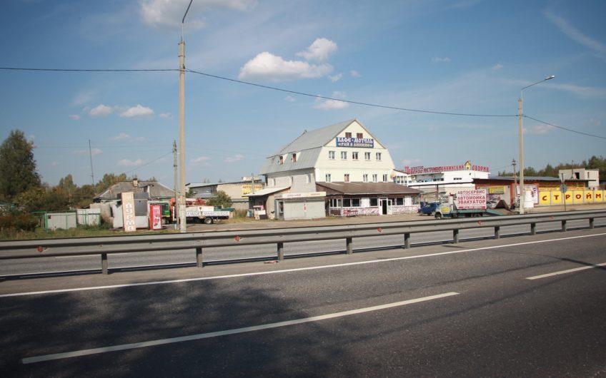 Земельный участок  25 соток с домом под снос под коммерцию во Владимирской области