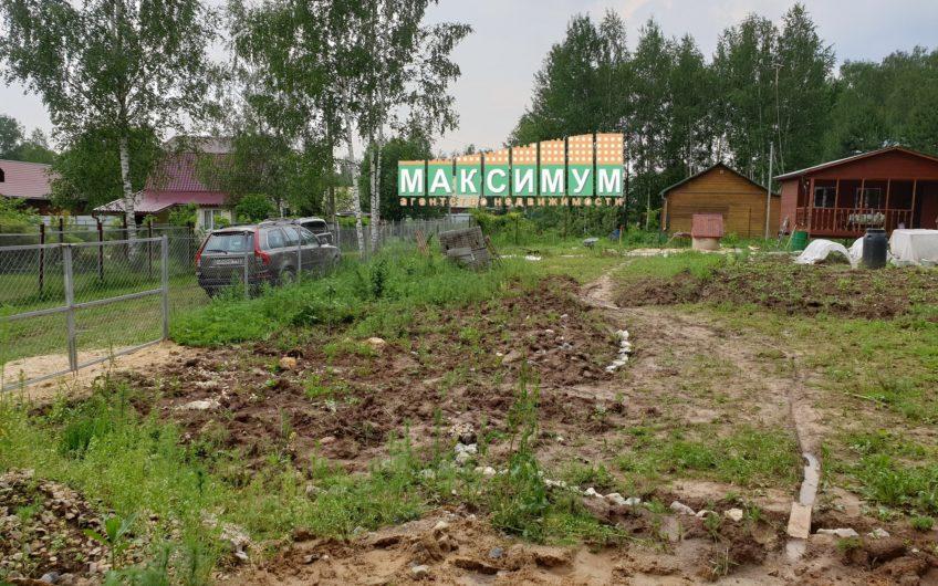 8 соток Домодедово, вблизи д. Острожки, СНТ Острожки