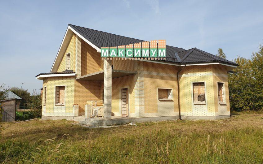 Недостроенный дом в г/о Домодедово, д. Ступино